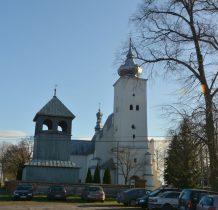Gródek-kościół z lat 1593-1595