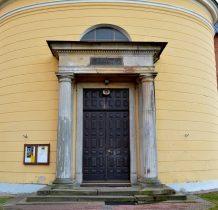portal zabytkowej kaplicy
