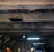 oryginalna drewniana konstrukcja