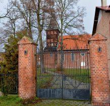 wieża w konstrukcji ryglowej powstała w XVII wieku