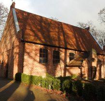 Leszkowy-mały kościółek z ok.XIV wieku
