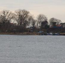 malutki port w Świbnie
