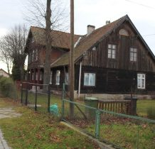 dom podcieniowy z XIX wieku