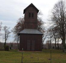 stary kościół rozebrano,została tylko XIX wieczna dzwonnica