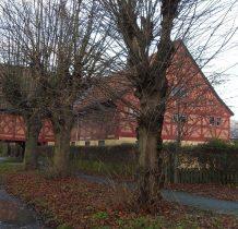 obok--żuławski dom podcieniowy z 1720 roku