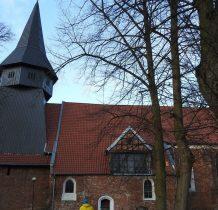 gotycki ceglany kościół z 1334 roku
