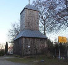 Wiślina-brama -dzwonnica przy byłym cmentarzu mennonickim