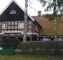 pięknie utrzymany dom podcieniowy z XVIII wieku-tzw.Danziger Kopf