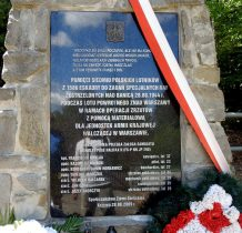 nowy pomnik odsłonięto w 2009 roku