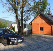 Wysowa -Zdrój-parkujemy przy cerkwi