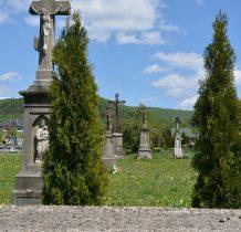 cmentarz założony na przełomie XVII i XIX wieku