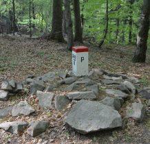 Kamień z data 1787, mieli tutaj swój szaniec konfederaci barscy