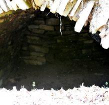 Wnętrze dawnej piwnicy