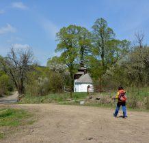 Cerkiew w Bielicznej- samotna na dnie doliny