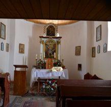 Mały ołtarz z obrazem patrona cerkwi św. Michała Archanioła