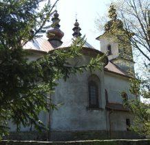 Izby- murowana cerkiew z 1886 roku