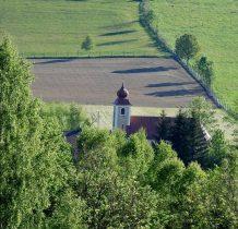 i kościół z górnej perspektywy