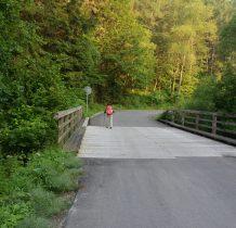 wracamy droga kilkadziesiat metrów-przez most na Krempnej