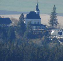 Maria Śnieżna jeszcze raz widziana w obiektywie spod Czarnej Góry