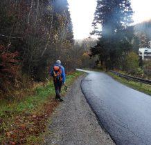 Przeszliśmy juz ponad 21 km