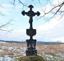 zabytkowy żeliwny krzyż