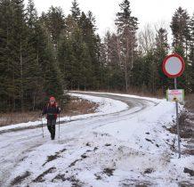 docieramy wreszcie do drogi Muczne-Tarnawa Niżna