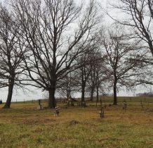 część starsza cmentarza