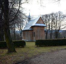 Kniażyce-zabytkowy kościółek z lat 1924-27