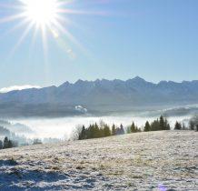 Słońce, Tatry i mgła...