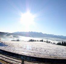 Panorama Tatr  z Czarnej Góry