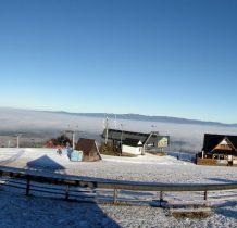 Panorama Gorców z Czarnej Góry