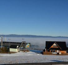 Na zboczach góry jeden z czarnogórskich wyciagów narciarskich
