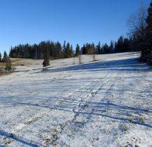 KaMap umożliwia nam chodzenie bez szlaku, sprzyja mała ilość śniegu