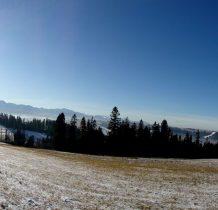 Tatry i Babia w panoramie