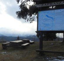 na Przełęczy nad Łapszanka
