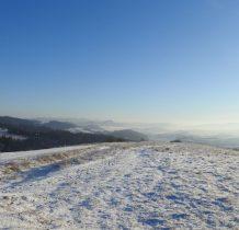 ze sczytu dookolna panorama-Pieniny