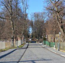 droga do pałacu zwanego zamkiem
