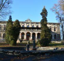 park zniszczony w czasie działań wojennych w 1914 roku