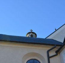 wieżyczki kościoła