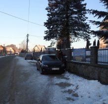 Dursztyn-parkujemy w znanym nam już miejscu
