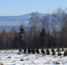 Masyw Śnieżnika z Igliczna po lewej