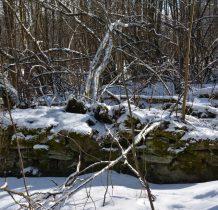 i kolejne,zima lepiej widoczne ruiny