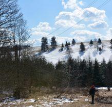 wokół wsi półdzikie górskie łaki