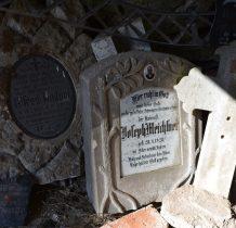 pozostałoci cmentarne