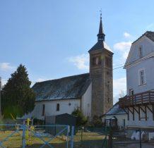 kościół wzmiankowany w 1503 roku,ten powstał w latach 1793-1794