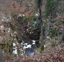 Wodospad Wilczki-w masywie Śnieżnika to najwyższy i największy wodospad