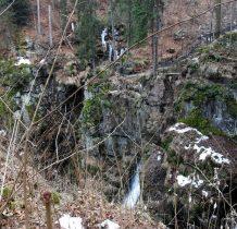 drugi co do wielkości w Sudetach-po wodospadzie Kamieńczyka