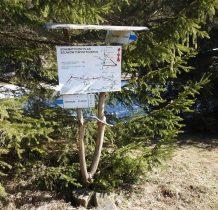 niebieskim szlakiem prowadzącym na Kanasiówkę