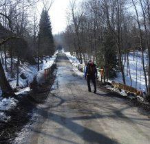 droga do Bukowca-przy mostku na potoku Lytmar