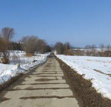 w 1945 roku wieś znowu podzieliła granica,po polskiej stronie nie zachował się żaden budynek-ludność wywieziono w głąb ZSRR